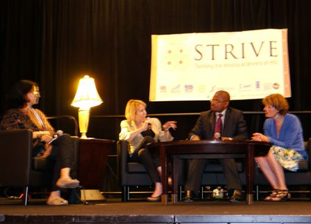 STRIVE launch panel