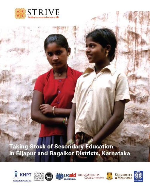 Taking Stock of Secondary Education in Bijapur and Bagalkot Districts, Karnataka