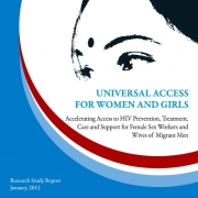 Universal Access for Women and Girls report cover