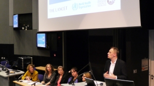 Richard Horton, Editor-in-Chief of The Lancet, officially launched the series of papers on VAWG