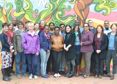 STRIVE 2014 Annual Meeting, participants tour Hillbrow