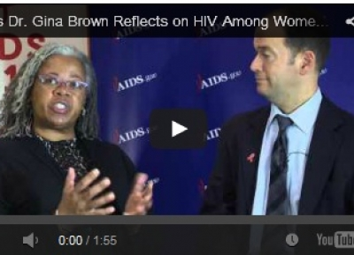 Interview with NIH's Dr Gina Brown at AIDS2014