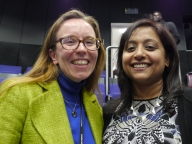 Alison Morris-Gehring (LSHTM) and Udani Samarasekera (The Lancet) organised the event