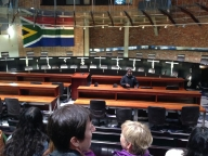 Inspiring tour of South Africa's Constitutional Court