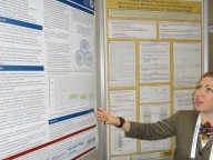 LSHTM modeller Holly Prudden's posters: MSM in India, PMTCT in South Africa