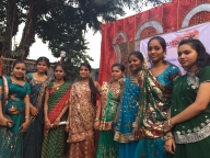 Participants at the Parivartan for Girls launch