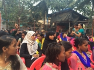 Audience at the Parivartan for Girls launch