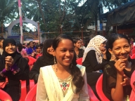 Audience enjoying the Parivartan for Girls launch