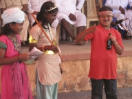 A skit on the importance of girls' education