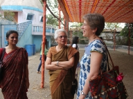 STRIVE co-research director Lori Heise at the Parivartan for Girls launch