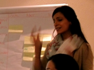 Karima Manji in the Working Group on Gender Norms, Violence and HIV