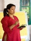 Dr Madhumita Das from ICRW leads the Parivartan programme