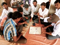 Men discuss VAW in Bijapur