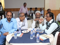 Officials from the Department of Education (DoE) in discussion at the conference