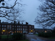 Cumberland Lodge, a cold January morning