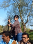 Priya Pillai, KHPT, leads a team in punting