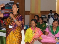 Vijayalakshmi, ORW of Samata programme recommend new guidelines for constituting the SDMCs and encouraging engagement between boys and girls