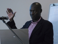 Martin Mbonye of the Medical Research Council, Uganda