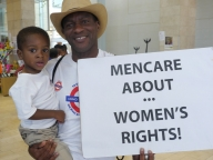 Men care about women's rights, ICASA