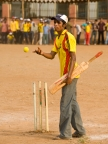 Cricket was a strategic choice, as the most popular game in India